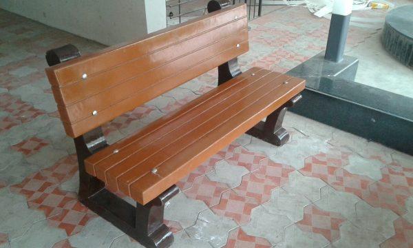 RCC garden bench single