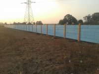 Om infra Comound wall Chikhli