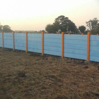 Om Infra Boundary wall